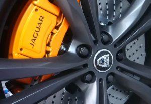 Jaguar brake upgrade