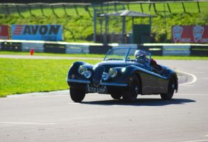 classic jaguar racing track day