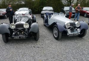 classic jaguar car show